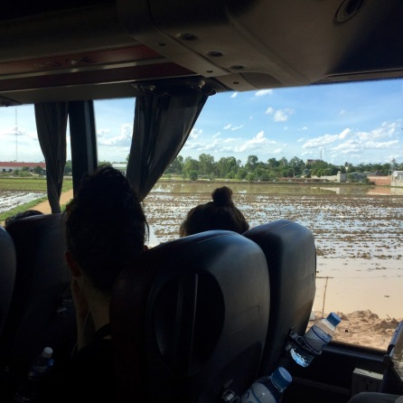 journey from Phnom Penh to Siem Reap